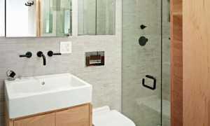 Ванные комнаты дизайн фото в хрущевке плиткой