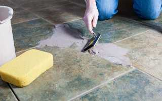 Как правильно заделать швы между плитками