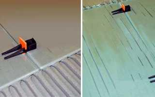 Зажим для системы выравнивания плитки