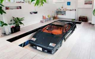 Стиль гаража в интерьере