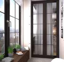 Дизайн балкона 6 метров