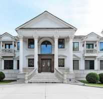 Интерьеры частных домов в классическом стиле
