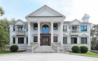 Интерьеры загородного дома в классическом стиле