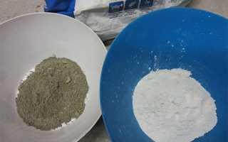 Производство белого цемента