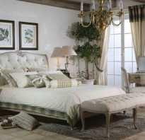 Интерьер в стиле прованс спальня