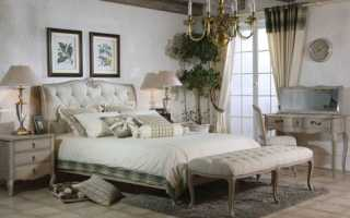 Интерьеры спален в стиле прованс
