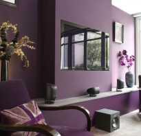 Обои фиолетового оттенка