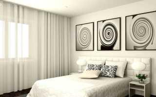 Черно белые рисунки для интерьера